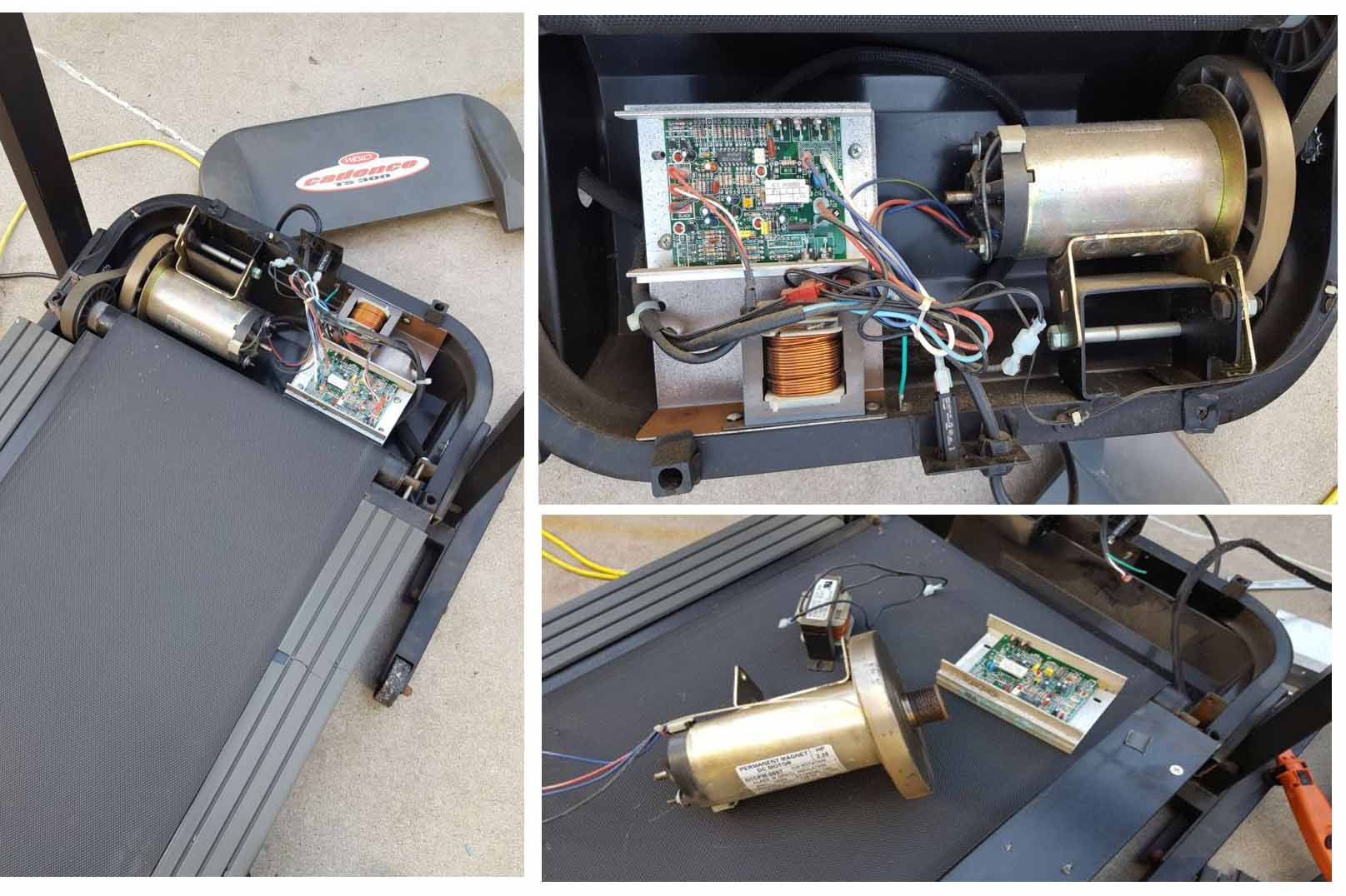 treadmill teardown for dummies continued in next post